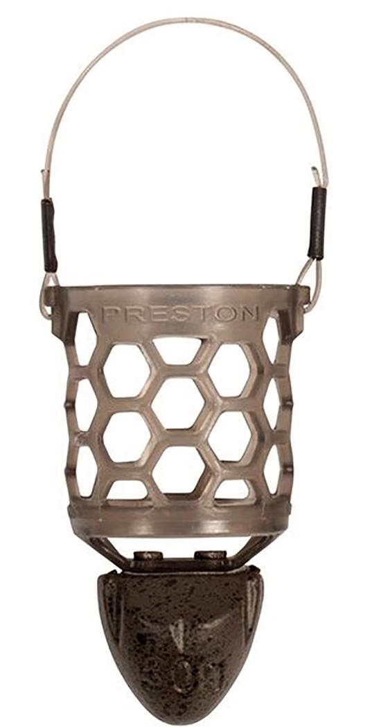 Medium 40g Futterkorb Speedkorb Preston Hexmesh Plastic Bullet Feeder