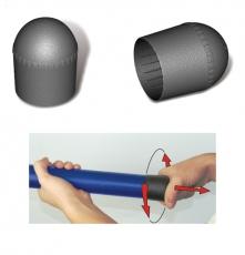 Stonfo Rutenkappe (pole caps) für Kopfruten - 2 Stück