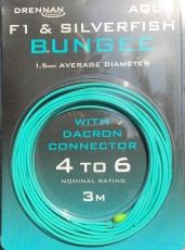 Drennan F1 Hollow Elastic 4-6, 1.5mm, Hohlgummi aqua blau