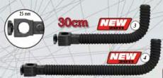 Zubehörhalterung Neopren 300mm D25