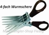 Wurmschere 4-fach zum schneiden von Würmern