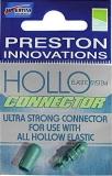 Preston Gummizugverbinder PTFE Hollo extern grün