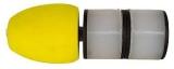 Milo Expanda Skid Bung - doppelt - Pole Protector 34-50mm Durchmesser - gelb