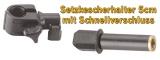 Setzkescherhalter mit Schnellverschluss 5cm D25