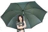 Schirm Nylon 2,50m Durchmesser, 2m hoch - ausverkauft -