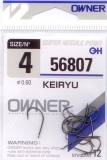 Haken Owner (SSH) Keiryu Black Nickel (50175-56807) Größe 4-10