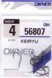 Haken Owner (SSH) Keiryu Black Nickel (50175-56807) Größe 4-10