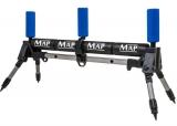 Abroller 4-Bein für Kopfruten mit Doppel-Rollen