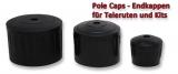 Rutenkappe (pole cups) zum Verschließen von Teleruten+Kits
