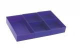 Rive Facheinsatz violett für 60-mm Schub-Fächer