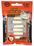 FTM Trout Finder Bait weiß 6 St.