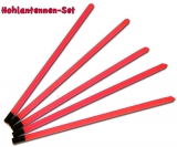 Hohlantennen für Posen, 1.5mm-2.5mm 5 Stück, alle mit roter Antenne