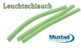 Leuchtschlauch von Mustad grün 2.5mm 6 Stück