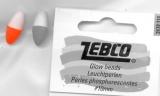 Zebco Leuchtperlen fluo-rot 10mm, 10 Stück