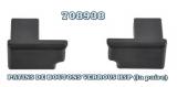 Rive Ersatzverschlüsse für HSP, 1 Paar (Patin de Bouton/Verrou)