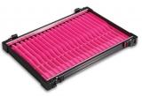 Rive Alu-Fach schwarz Wickelbrettchen 16x rosa