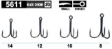 Owner Drilling (Treble Hook) ST11 ultralight - 8 Stück