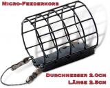Browning Micro Feederkorb 5-15 Gramm, Edelstahl