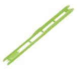 Rive Wickelbrettchen grün, 26cm, 1.8cm breit, 20 Stück