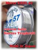 MAVER SMART EXEL 57 Schnur 50m 0,08 bis 0,16mm - hohe lineare Tragkraft!