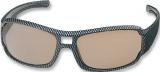 Brille Polarisationsbrille Carbon grau oder bernstein