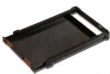 Rive Alufach mit Schublade und Sitzkissenrahmen - schwarz