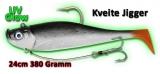 Quantum 380g Kveite Jigger, 24cm, UV-Glow