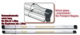 Transportrohr Competition für lange Kits bis 1,82m, 42mm Durchmesser