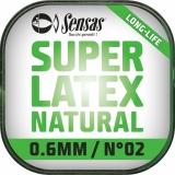 Sensas Latex Natur 700% Dehnung, 6m, no-memory Effekt