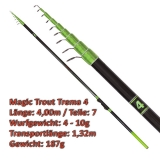Quantum Teleforellenrute 4m Magic Trout Trema 4 mit 4-10g WG