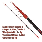 Quantum Teleforellenrute 3.90m Magic Trout Trema 1 mit 1-4g WG