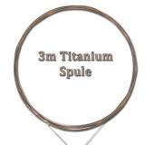 Titanium Wire 3m Vorfach-Spule, 25kg Tragkraft