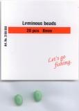 QUANTUM Leuchtperlen Sea Maniac Fluo Soft Bead 4x5mm, 10 Stück