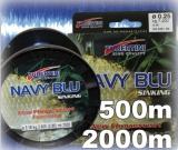 Tubertini Schnur Navy Blue sinkend 500m Spule - Abverkauf