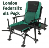 Sensas London Feeder Chair (Feedersitz) mit 25mm Beinen.
