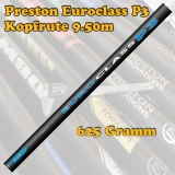 Preston EUROCLASS P3 Kopfrute 9.50m 625 Gramm