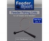 Feedersport Feeder Bead Links für Feederkörbe 3 Stück, 5cm oder 9cm
