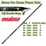 Maver Bolognese Rute Superlithium Green Power MX 6m, Modell 2017