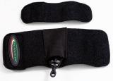 Rutengürtel Set (2 Neoprenbänder) für Feederruten mit Feederkorbtasche
