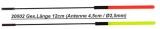 Wechselantennen für Exner Waggler Set 4.5cm x 2.5mm, 10 Stück