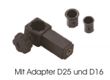 Adapter Gewindering mit Mutter rive-kompatibel