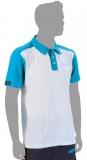 Rive T-shirt Schwarz/Aqua Gr. M bis 4XL