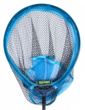 Kescherkopf Preston Match aquablau oval 45x35cm 28cm tief