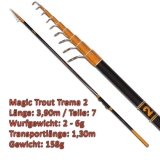 Quantum Teleforellenrute 3.90m Magic Trout Trema 2 mit 2-6g WG