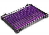 Rive Alu-Fach schwarz Wickelbrettchen 16x violett