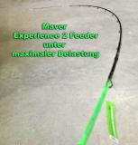 Maver Experience 2 Feederrute 3.60m, 70Gr. Wurfgewicht, 4 Carbonspitzen