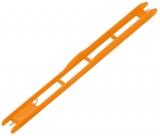Rive Wickelbrettchen orange, 26cm, 1.8cm breit, 20 Stück