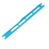 Rive Wickelbrettchen aqua-blau, 26cm, 1.8cm breit, 20 Stück