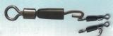 Cralusso Quick Snap Verbinder (2134) mit Mini-Wirbel - 6 Stück