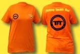 FTM T-Shirt orange TFT-Kollektion, Gr. S bis 4XL